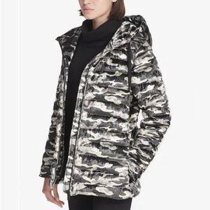 🆕 DKNY Sport Velvet Camo Jacket $189